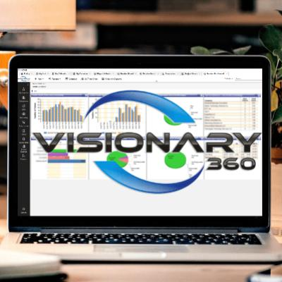 Visionary 360, Inc. logo