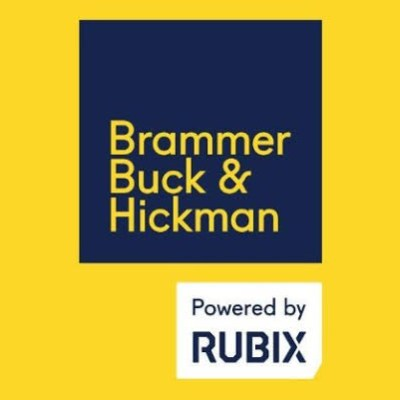 Brammer Buck and Hickman Powered by Rubix logo
