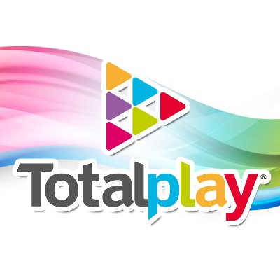 logotipo de la empresa Totalplay