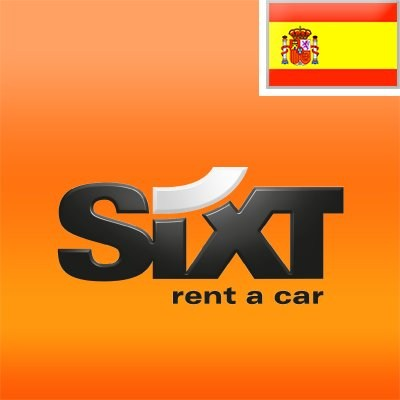 logotipo de la empresa Sixt Rent a Car