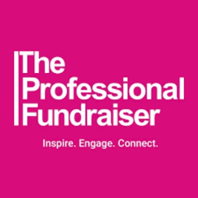 The Professional Fundraiser logo