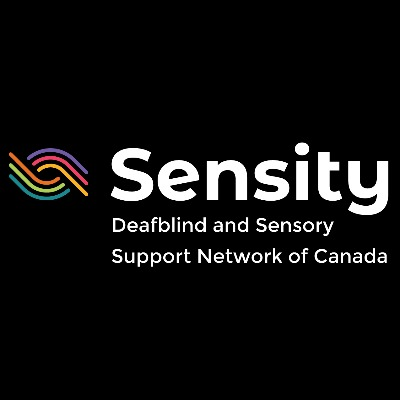 Logo Sensity Deafblind and Sensory Support Network of Canada