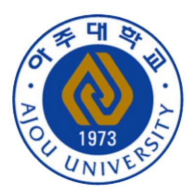 아주대학교 logo