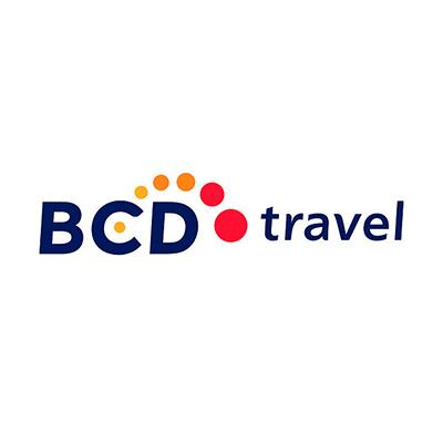 logotipo de la empresa BCD Travel
