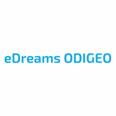logotipo de la empresa eDreams ODIGEO