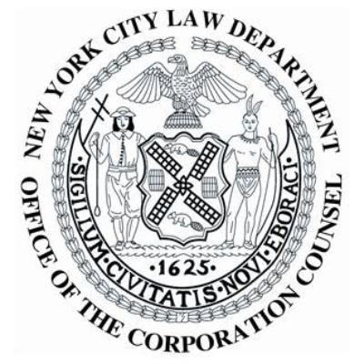 New York City Law Department logo