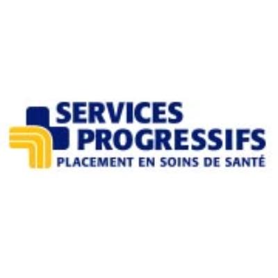 Logo Services Progressifs Placement en soins de santé