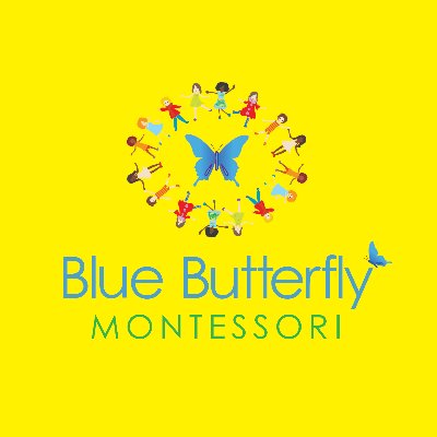 Blue Butterfly Montessori logo