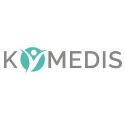 KOMEDIS GmbH - Mittelpunkt Mensch-Logo