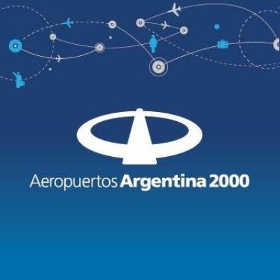 logotipo de la empresa Aeropuertos Argentina 2000