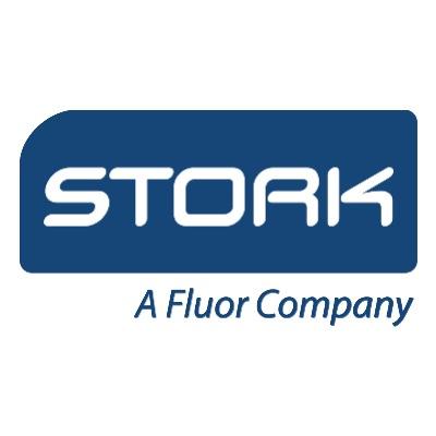 logotipo de la empresa Stork
