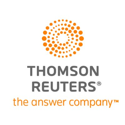 logotipo de la empresa Thomson Reuters