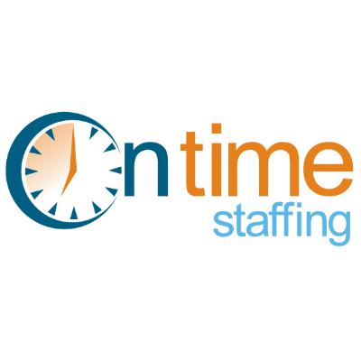 On Time Staffing logo