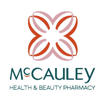 McCauley Health & Beauty Pharmacy logo