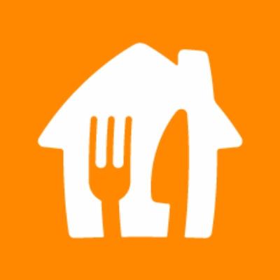 Logo van Takeaway.com