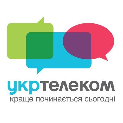 Лого компании Укртелеком