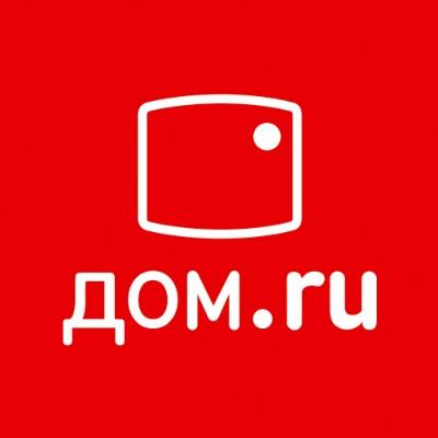 Лого компании Дом.ru