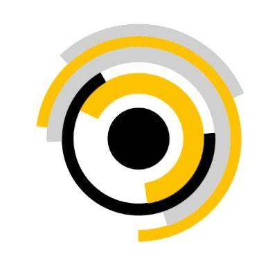 Logo van de vrienden van beton