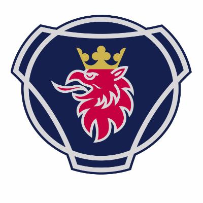 logotipo de la empresa Scania