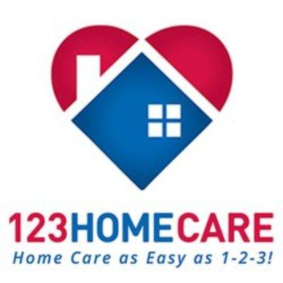 123 Home Care logo