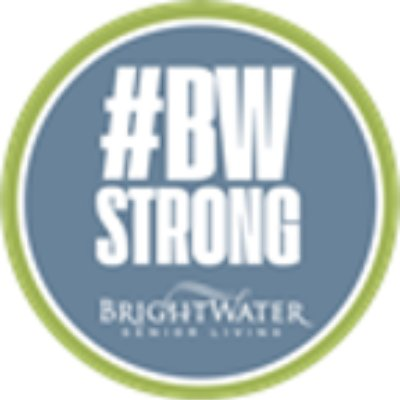 BRIGHTWATER SENIOR LIVING logo