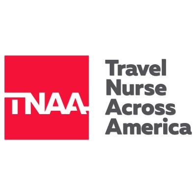 Travel Nurse across America logo