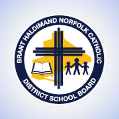 Brant Haldimand Norfolk Catholic District School Board logo
