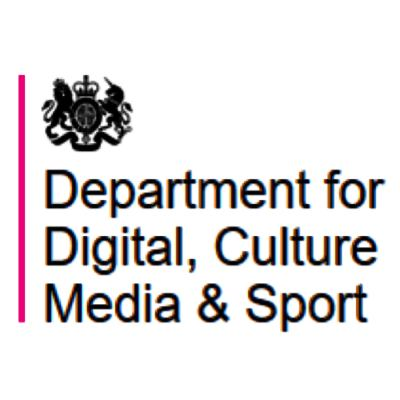 UK Government - Department for Digital, Culture, Media and Sport logo