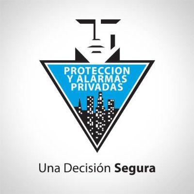 logotipo de la empresa Proteccion y Alarmas Privadas