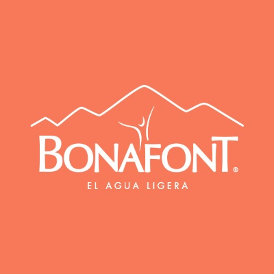 logotipo de la empresa Bonafont