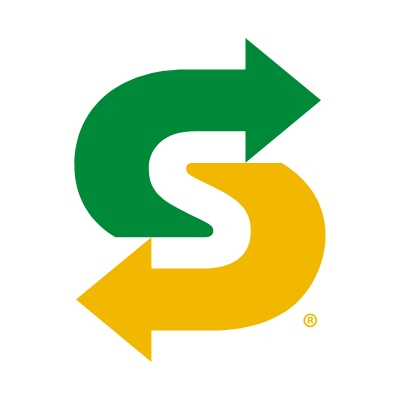 Logo van Subway
