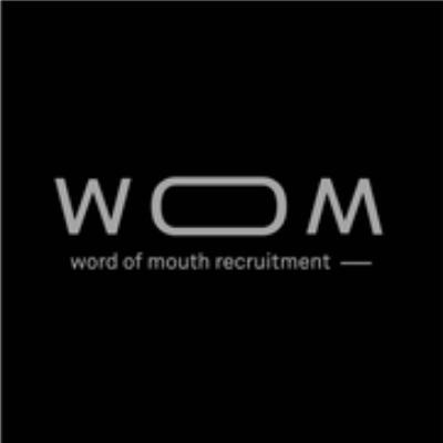 logotipo de la empresa WOM