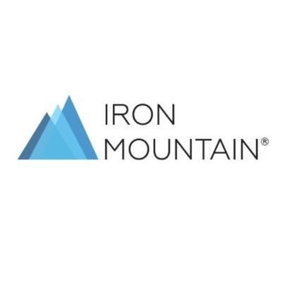 logotipo de la empresa Iron Mountain