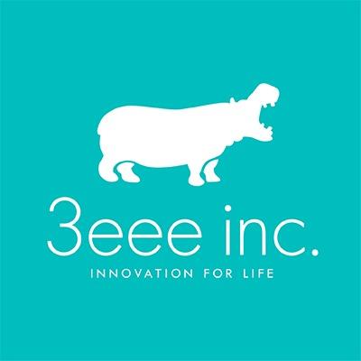 株式会社3eeeのロゴ