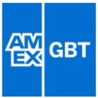 Logo van American Express Global Business Travel