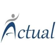 Logotipo - Actual Seleção e Serviços