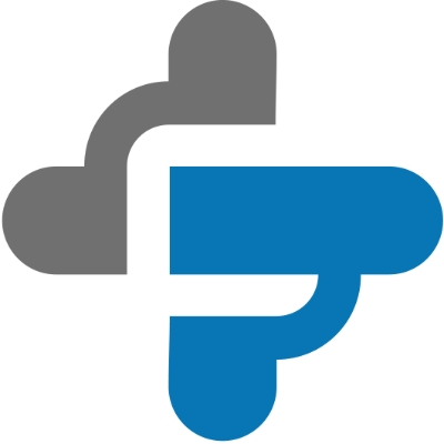 logotipo de la empresa SANITARIA , servicios asistenciales.