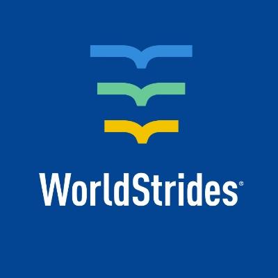 logotipo de la empresa WorldStrides