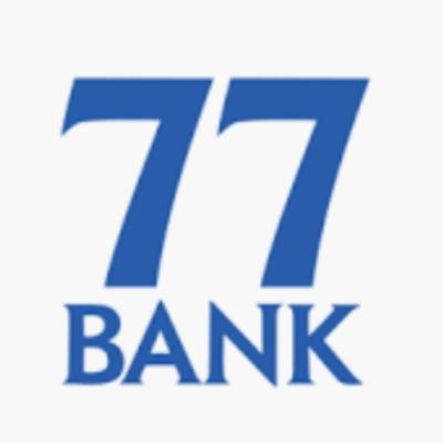 七十七銀行のロゴ