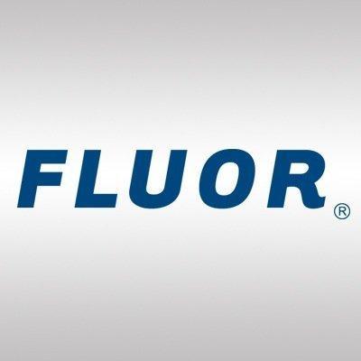 logotipo de la empresa Fluor Corp.