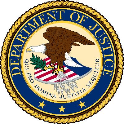 United States Department of Justice logo