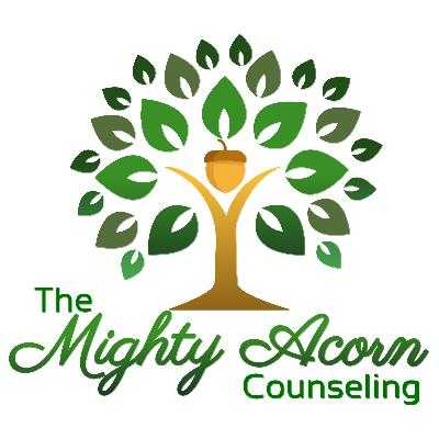 The Mighty Acorn Counseling logo