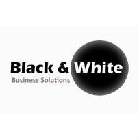 Black and White Business Solutions logo