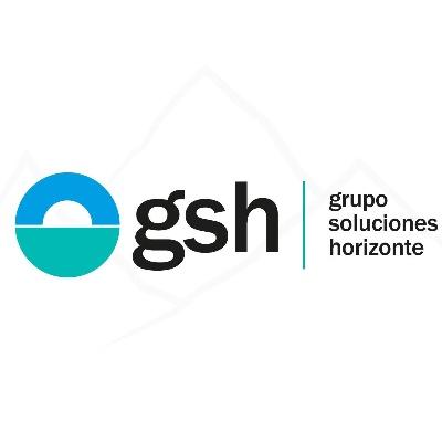 logotipo de la empresa GSH Grupo Soluciones Horizonte