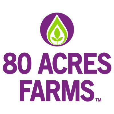 80 Acres Farms logo