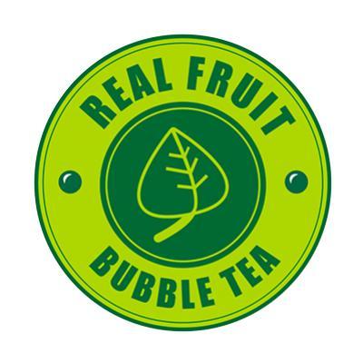 Logo Real Fruit Bubble Tea