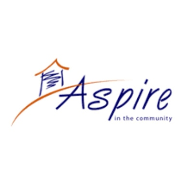 Aspire in the community logo