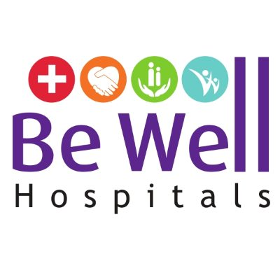 BE WELL HOSPITALS logo