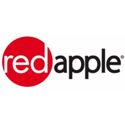 Red Apple Stores logo