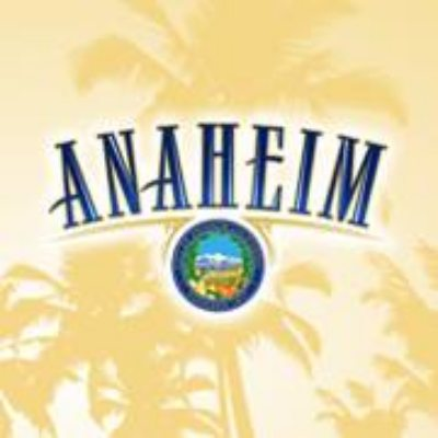 City of Anaheim, CA logo